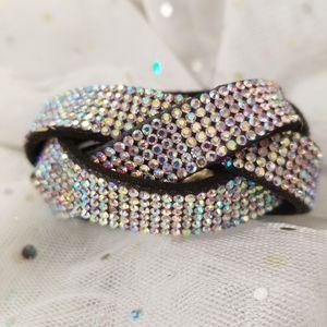 Jewelry - New AB Rhinstone braded Bracelet